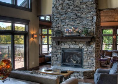 Kimble Lake Shores Living Room