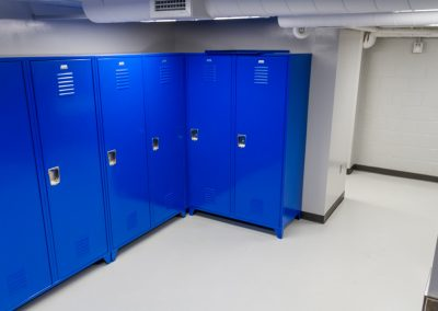 Isanti Sheriff's Office Lockeroom