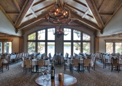 Madden's Wilson Bay Lodge Dining Room