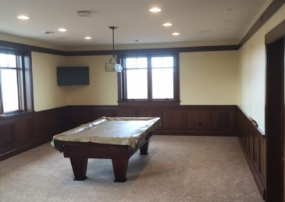 North Shore Overlook Billiards Room