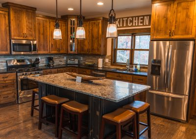 Shoreview Retreat Kitchen