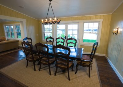 Urbans Point Cottage Dining Room