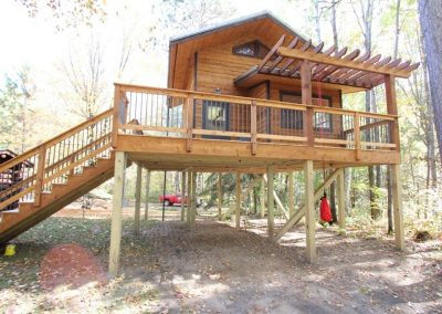 Wolfe Creek Tree House Exterior
