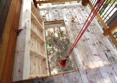 Wolfe Creek Tree House Pulley