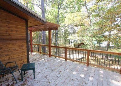Wolfe Creek Tree House Deck